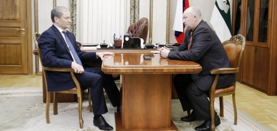 Встреча с Губернатором Курганской области