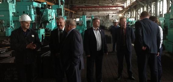 Состоялась встреча с линейным менеджером Фонда развития моногородов Шелгуновым Русланом Владимировичем и руководством Департамента экономического развития Курганской области: