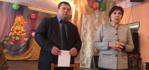 День Администрации Петуховского района в селе Октябрьское.